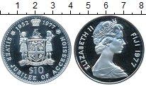 Изображение Монеты Фиджи 10 долларов 1977 Серебро Proof