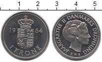 Изображение Монеты Дания 1 крона 1984 Медно-никель UNC
