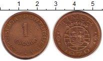 Изображение Монеты Тимор 1 эскудо 1970 Бронза XF