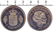 Изображение Монеты Дания 5 крон 1977 Медно-никель UNC-