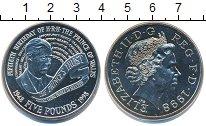 Изображение Монеты Великобритания 5 фунтов 1998 Медно-никель UNC