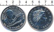 Изображение Монеты Великобритания 5 фунтов 1998 Медно-никель UNC Елизавета II. 50 - л