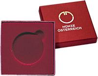 Изображение Аксессуары для монет Коробка для монеты Футляры в ассортименте Ø 40 мм (№9) 0   Картонный футляр под