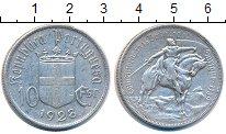 Изображение Монеты Португалия 10 эскудо 1928 Серебро XF-