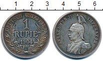 Изображение Монеты Немецкая Африка 1 рупия 1904 Серебро XF