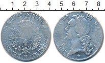 Изображение Монеты Франция 1 экю 1743 Серебро VF Людовик XV.