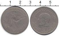 Изображение Монеты Тунис 1 динар 1976 Медно-никель VF
