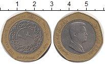 Изображение Монеты Иордания 1/2 динара 2008 Биметалл XF