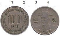 Изображение Монеты Южная Корея 100 вон 1973 Медно-никель XF