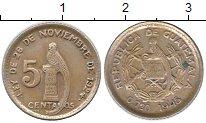 Изображение Монеты Гватемала Гватемала 1945 Серебро XF