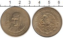 Изображение Монеты Мексика 1000 песо 1989 Латунь XF
