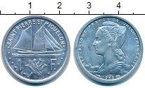 Изображение Монеты Сен-Пьер и Микелон 1 франк 1948 Алюминий UNC-