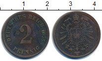 Изображение Монеты Германия 2 пфеннига 1876 Медь VF