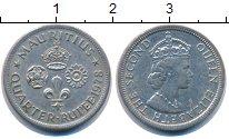 Изображение Монеты Маврикий 1/4 рупии 1978 Медно-никель UNC-