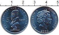 Изображение Монеты Острова Кука 5 центов 2000 Медно-никель UNC- ФАО