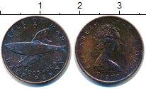 Изображение Монеты Остров Мэн 1/2 пенни 1977 Бронза UNC-