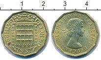 Изображение Монеты Великобритания 3 пенса 1967 Латунь UNC-