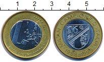 Изображение Монеты Италия 1 евро 1999 Биметалл UNC-