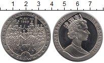 Изображение Монеты Остров Мэн 1 крона 1992 Медно-никель UNC