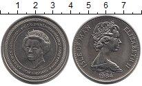 Изображение Монеты Остров Мэн 1 крона 1984 Медно-никель UNC