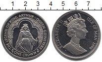 Изображение Монеты Остров Мэн 1 крона 1996 Медно-никель UNC Елизавета II.  Леген