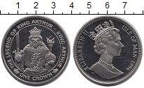 Изображение Монеты Остров Мэн 1 крона 1996 Медно-никель UNC Елизавета II.  Корол