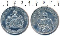 Изображение Монеты Гамбия 10 даласи 1992 Медно-никель UNC