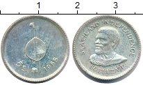 Изображение Монеты Свазиленд 5 центов 1968 Серебро XF Провозглашение незав