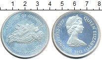 Изображение Монеты Великобритания Гернси 25 пенсов 1977 Серебро UNC