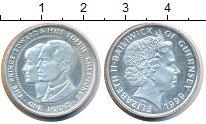Изображение Монеты Гернси 1 фунт 1999 Серебро UNC Елизавета II.  Принц