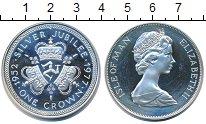 Изображение Монеты Остров Мэн 1 крона 1977 Медно-никель UNC