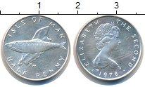Изображение Монеты Остров Мэн 1/2 пенни 1978 Серебро Proof-