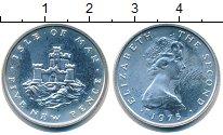Изображение Монеты Великобритания Остров Мэн 5 пенсов 1975 Серебро Proof-
