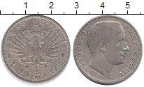 Изображение Монеты Италия 2 лиры 1906 Серебро XF