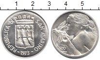 Изображение Монеты Сан-Марино 500 лир 1973 Серебро UNC