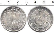Изображение Монеты Сан-Марино 500 лир 1977 Серебро UNC