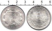 Изображение Монеты Сан-Марино 500 лир 1976 Серебро UNC