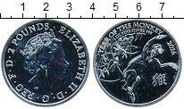 Изображение Монеты Великобритания 2 фунта 2016 Серебро UNC