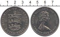 Изображение Монеты Гернси 25 пенсов 1978 Медно-никель UNC