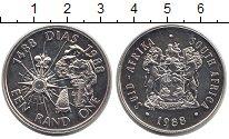 Изображение Монеты ЮАР 1 ранд 1988 Серебро XF