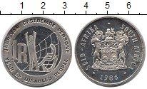 Изображение Монеты ЮАР 1 ранд 1986 Серебро XF Международный  Год