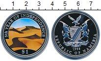 Изображение Монеты Намибия 1 доллар 1993 Медно-никель Proof