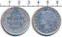 Изображение Монеты Либерия 50 центов 1906 Серебро XF