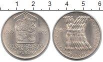 Изображение Монеты Чехословакия 100 крон 1980 Серебро XF