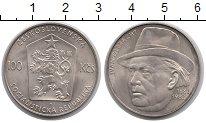 Изображение Монеты Чехословакия 100 крон 1982 Серебро XF Иван  Ольбрахт.