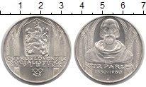 Изображение Монеты Чехословакия 100 крон 1980 Серебро UNC PETR PARLER