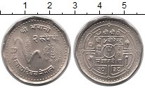 Изображение Монеты Непал 1 рупия 1981 Медно-никель XF ФАО. Кукуруза
