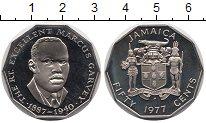 Изображение Монеты Ямайка 50 центов 1977 Медно-никель Proof-