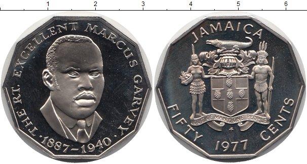 Картинка Монеты Ямайка 50 центов Медно-никель 1977
