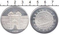 Изображение Монеты Мальта 4 фунта 1976 Серебро Proof-
